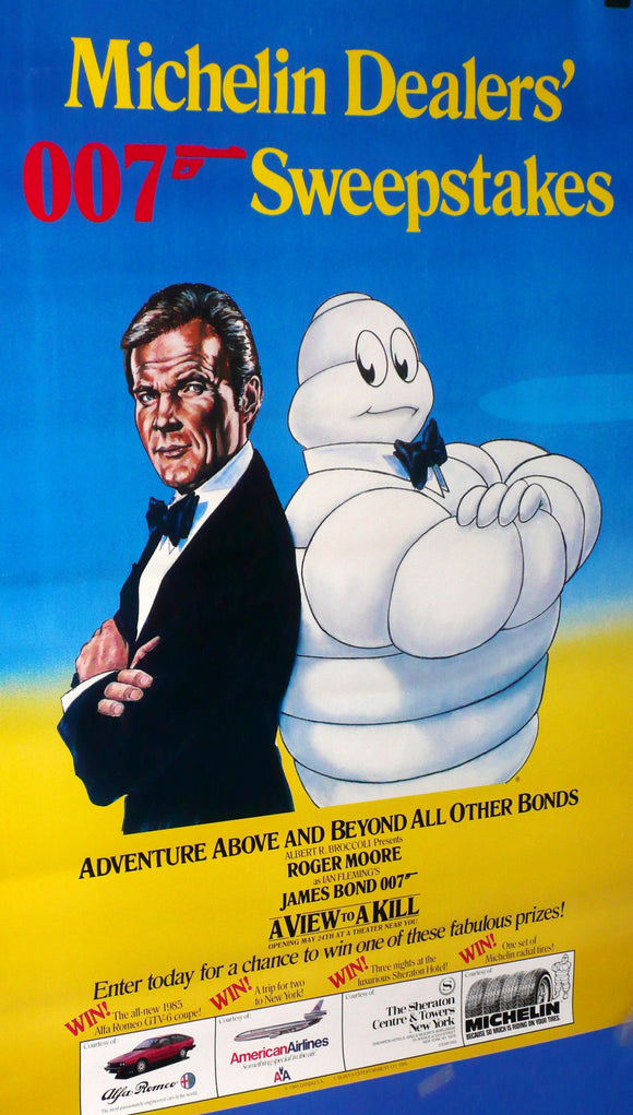 View to a Kill, Michelin, Bond, 1985
