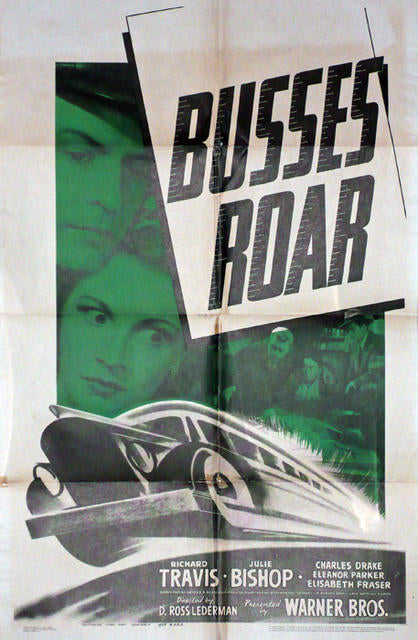 Busses Roar  USA 1942 Original Movie Poster