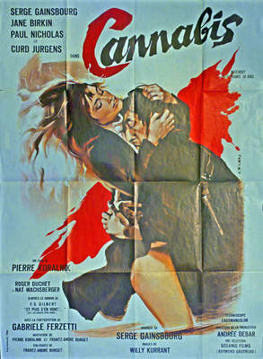 Cannabis  France 1970, Gainsbourg, Birkin
