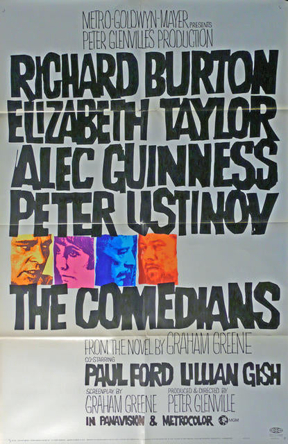 The Comedians  USA 1967