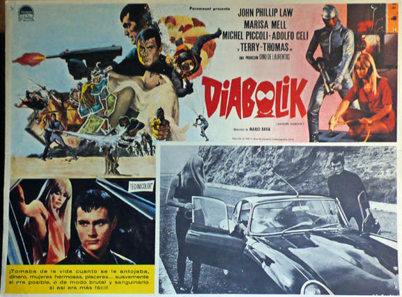 Original Movie Poster, Danger Diabolik