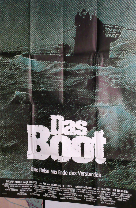 Das Boot, Original Movie Poster, Germany 1981