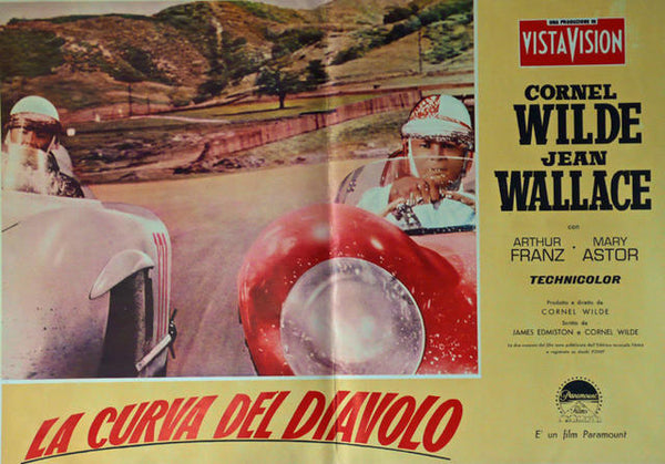 The Devil's Hairpin  Italy 1958