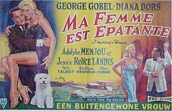 I Married A Woman  Belgium 1956