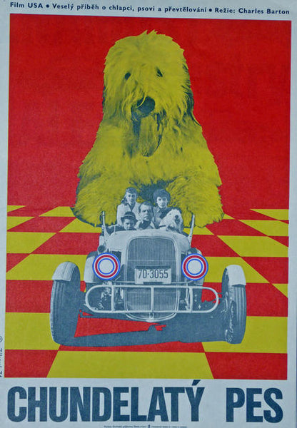 Shaggy Dog  Czechoslovakia 1974