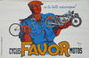 Favor Motorcycles 1937