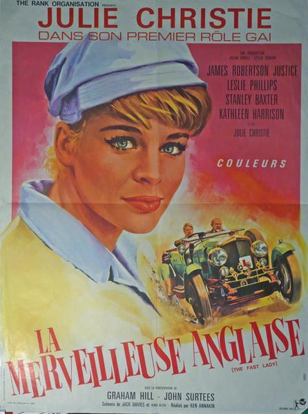 fast lady, original movie poster france