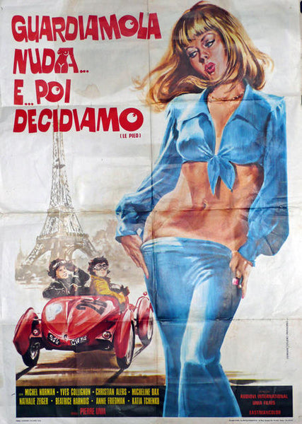 Le Pied, AKA 'Flat Out'  Italy 1975