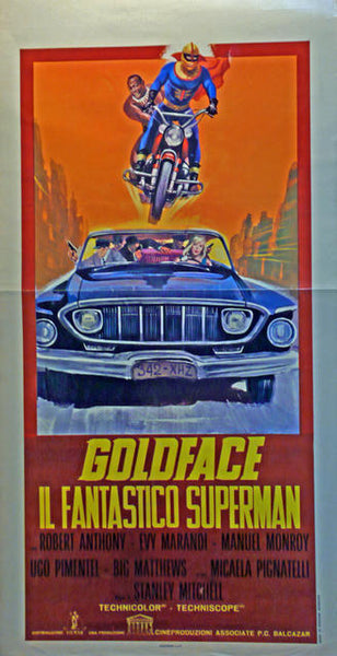 Goldface - il Fantastico Superman  Italy 1967