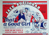 That's a Good Girl  UK 1933