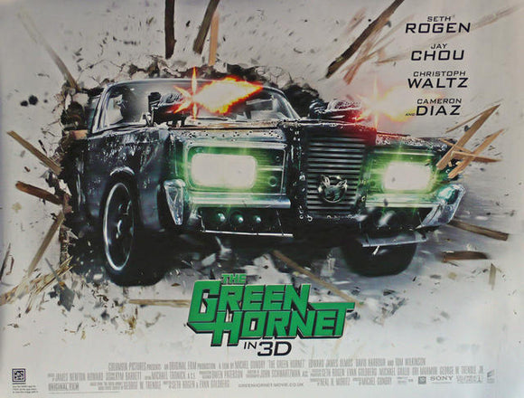 The Green Hornet in 3D  UK Quad 2011