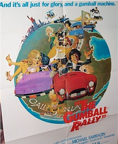 The Gumball Rally  USA 1976