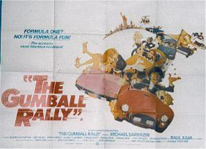 The Gumball Rally  UK Quad 1976