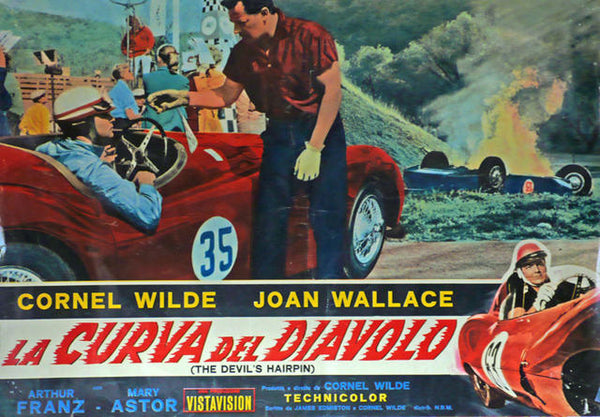 The Devil\'s Hairpin   Italy 1957