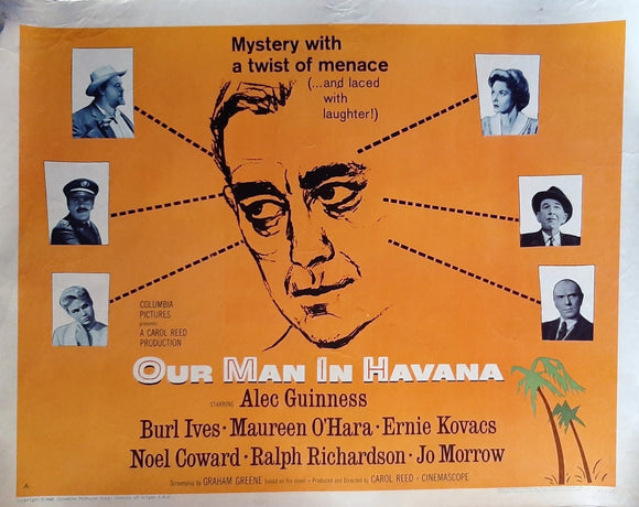Our Man in Havana - Alec Guinness, Graham Greene, Noel Coward USA 1960