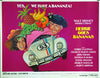 Bumerang - Hungary 1966 VW - Original Movie Poster