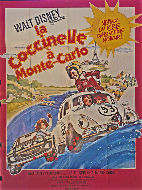 Herbie Goes to Monte Carlo  France 1977