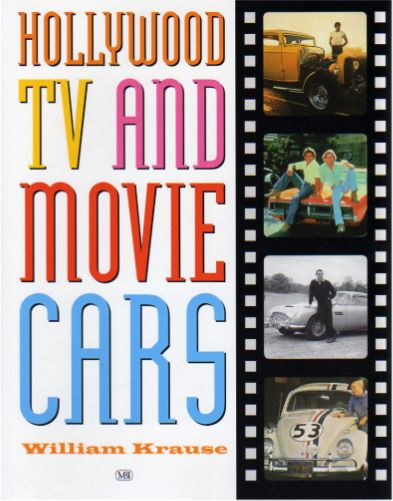 HOLLYWOOD TV and Movie Cars Book, USA 2001