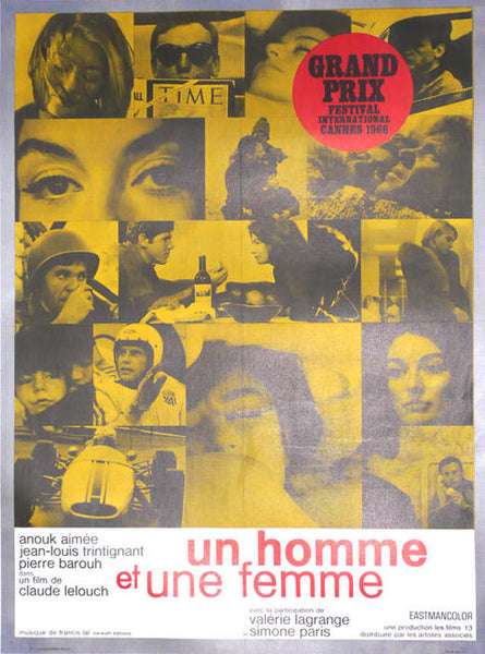 A Man and A Woman  France 1966