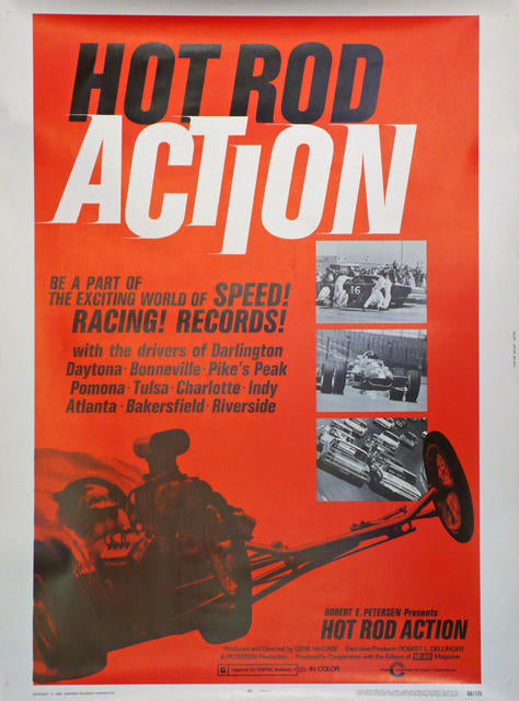 Hot Rod Action  USA 1969