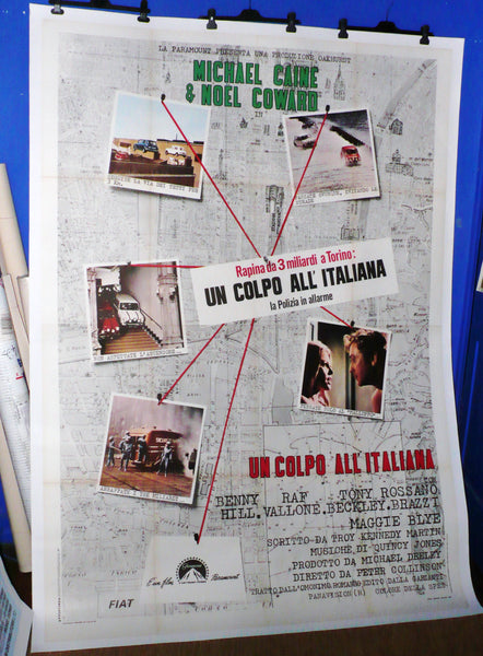 Italian Job, Original Italian Movie Poster.