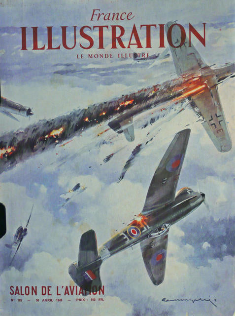 Illustration, SALON de l'AVIATION April 1949  France 1949