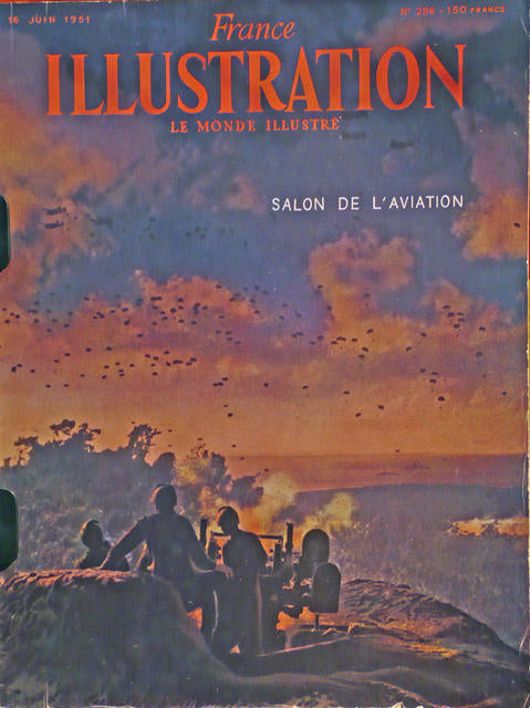 Illustration, SALON de l'AVIATION June 1951  France 1951
