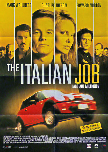 The Italian Job  Germany 2003