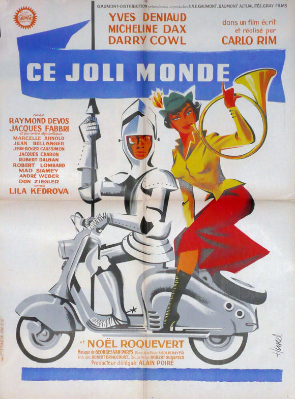Ce Jolie Monde, Original Movie Poster