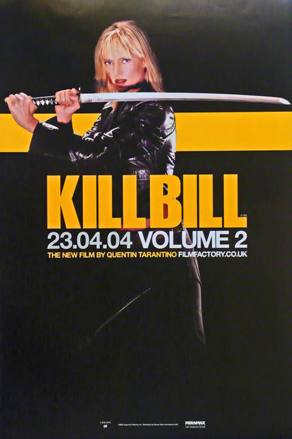 Kill Bill  UK 2004