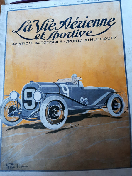 The Best of Geo Ham + Other French Motoring Artists - Many items, Prices Vary.
