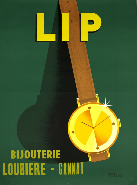 LIP - Watchmaker, Original French Poster, 1948