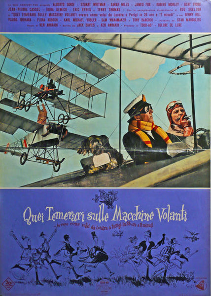 Those Magnificent Men in Their Flying Machines  Italy 1965