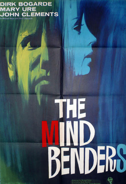 The Mind Benders  Original Movie Poster UK 1963