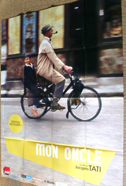 Mon Oncle French re-release poster, Tati, Hulo