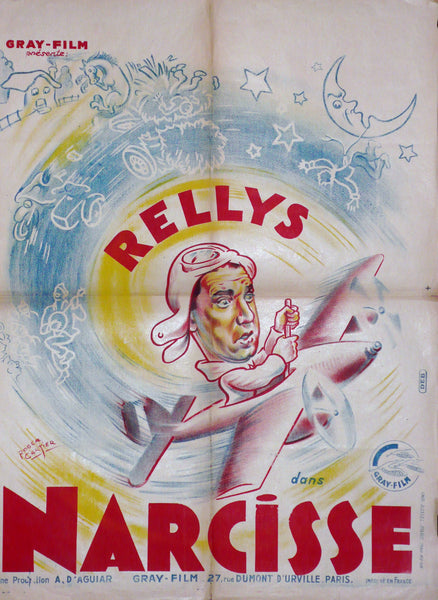 Narcisse, Original French Movie Poster, 1940