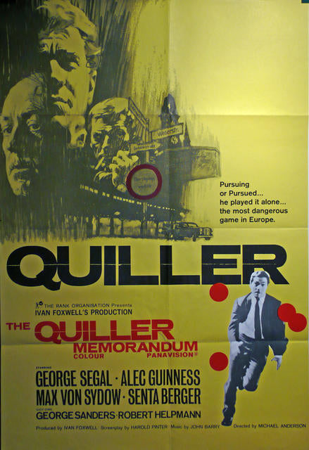 The Quiller Memorandum  UK 1966