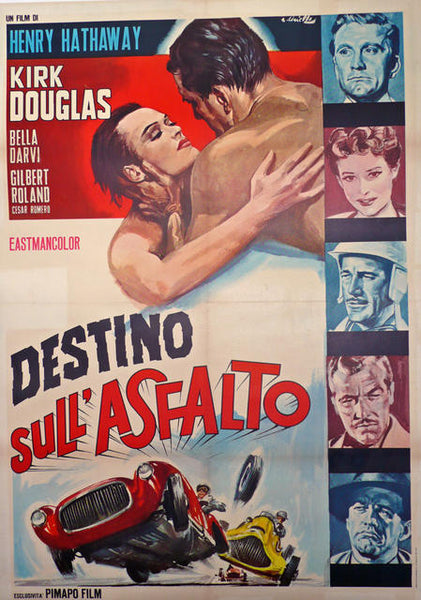 Racers (The), Original Italian Poster, 1956