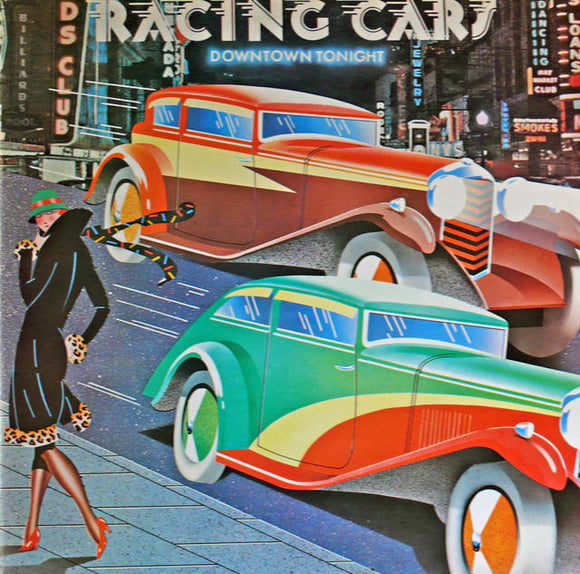 Art Deco Racing Cars L.P.  UK 1976