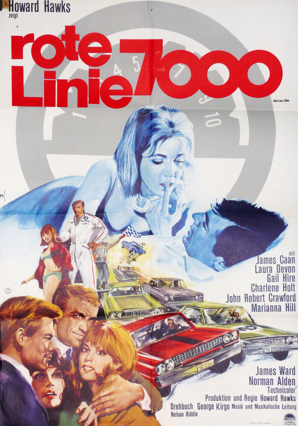 Red Line 7000, 1966