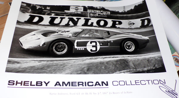 Shelby GT40, Andretti, Le Mans 1967