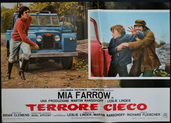 See No Evil, Italy 1971, Original Movie Poster, Land Rover