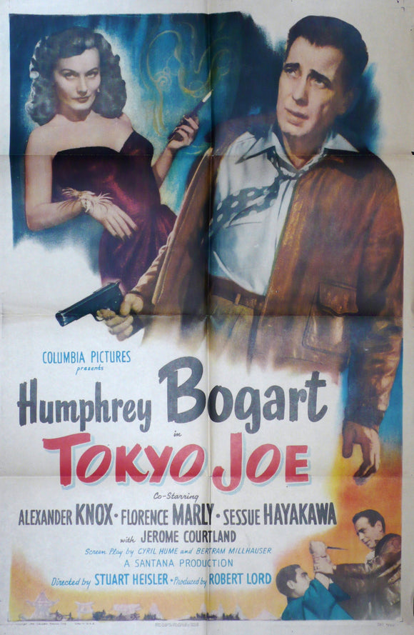 Tokyo Joe, Original US Movie Poster, 1950, Humphrey Bogart