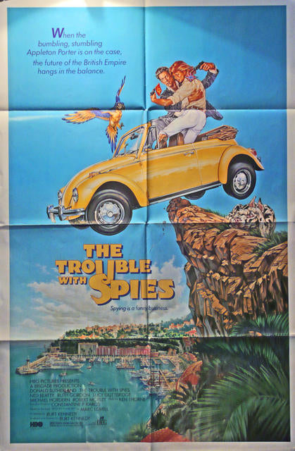 The Trouble With Spies - VW Beetle Cabrio  USA 1987