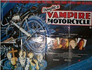I Bought A Vampire Motorcycle  UK Quad 1989