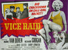 Vice Raid  UK Quad 1960