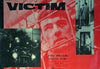 Victim , Original Movie Poster,  Italy 1961, Bristol