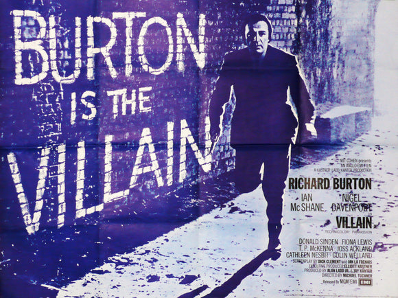 Villain Richard Burton 1971