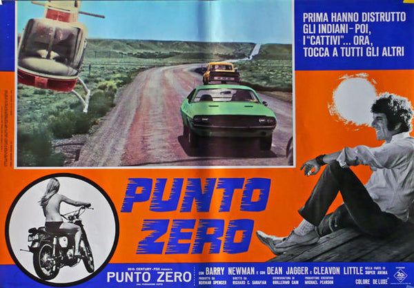 Vanishing Point  Italy 1971