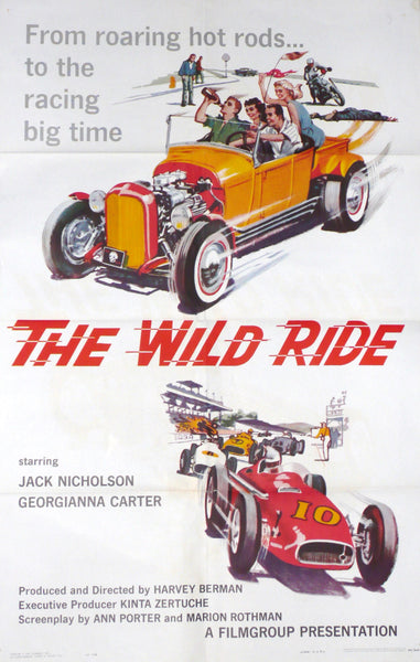 The Wild Ride - Original US Movie Poster